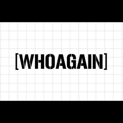 WHOAGAIN Sticker