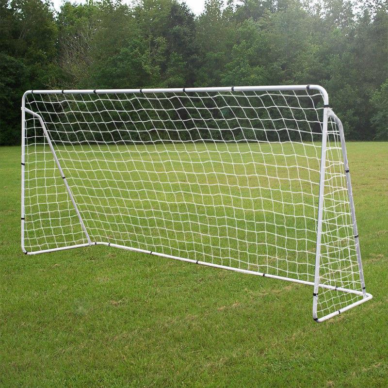 12x6' rojo de fútbol Gol de acero con tamaño de la Juventud rápido y fácil configuración para entrenamiento Fútbol