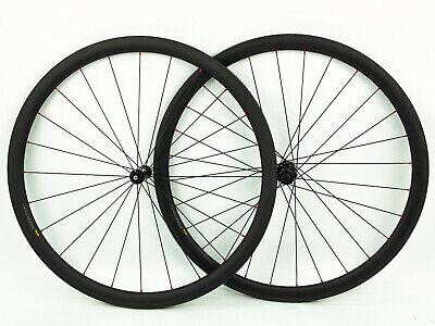 DT Swiss 370 Tubular 38mm Carbon Road Bike Wheelset 11 Speed  NEW!