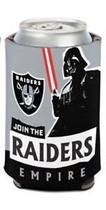 Oakland Raiders NFL Can Holder Cooler Bottle Sleeve Star Wars Team ... 254392bae