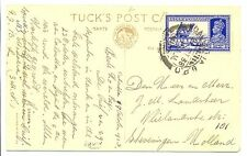 NED INDIE S.M.N.1938-10-21  = S.S. MADOERA = PM- CALCUTTA -  VF