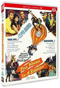 Cinco-Weeks-IN-A-Globo-Blu-Ray-DVD-Nuevo-Blu-Ray-101FILMS288BR