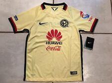 3eeb075e9d7 Nike Men s Club America Soccer Home Jersey 17 18 847306 455 Size S ...