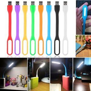 1pc Mini Lampe De Lecture Flexible Usb Led Pour Ordinateur Portable