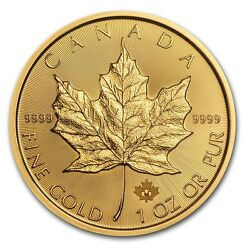 2016 Canada 1 oz Gold Maple Leaf Coin Brilliant Uncirculated