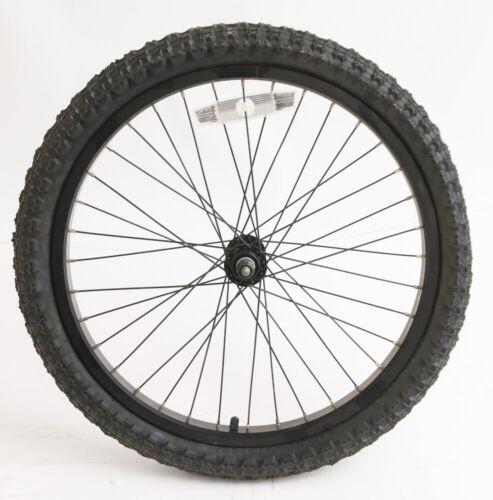 "20/"" BMX Kids Youth Boys Bike Front Wheel Tire Aluminum Rim 3//8/"" Axle NEW"