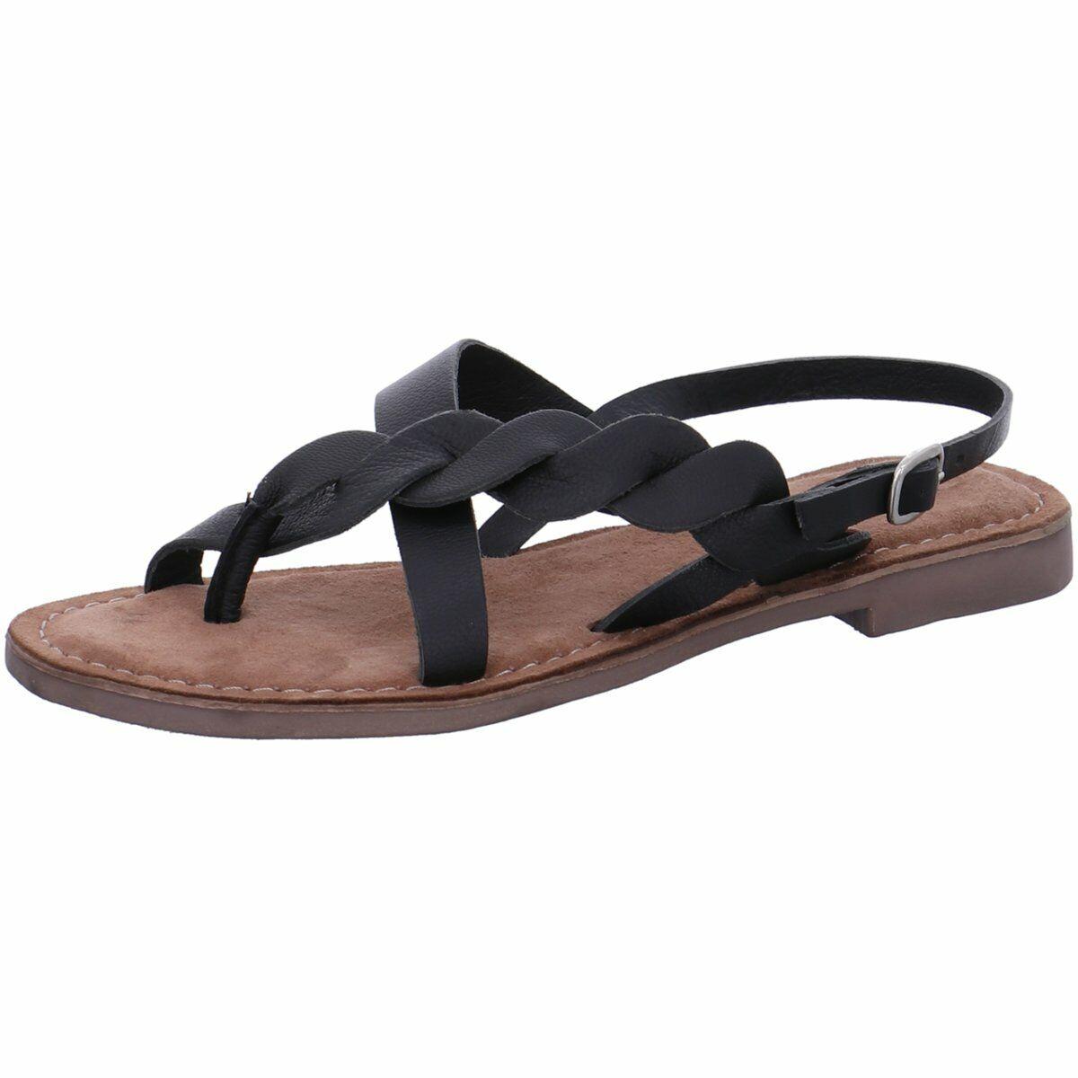 Lazamani Damen Sandaletten 75.630 schwarz 152 schwarz 673030