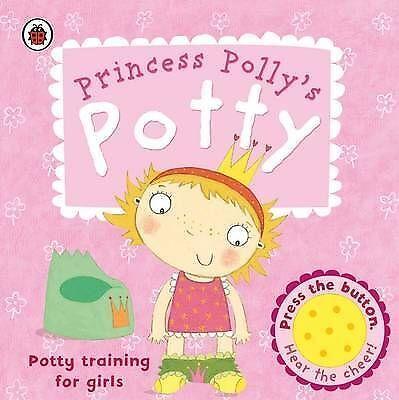 Princess Polly's Potty: A Ladybird Potty Training Book by Andrea Pinnington...