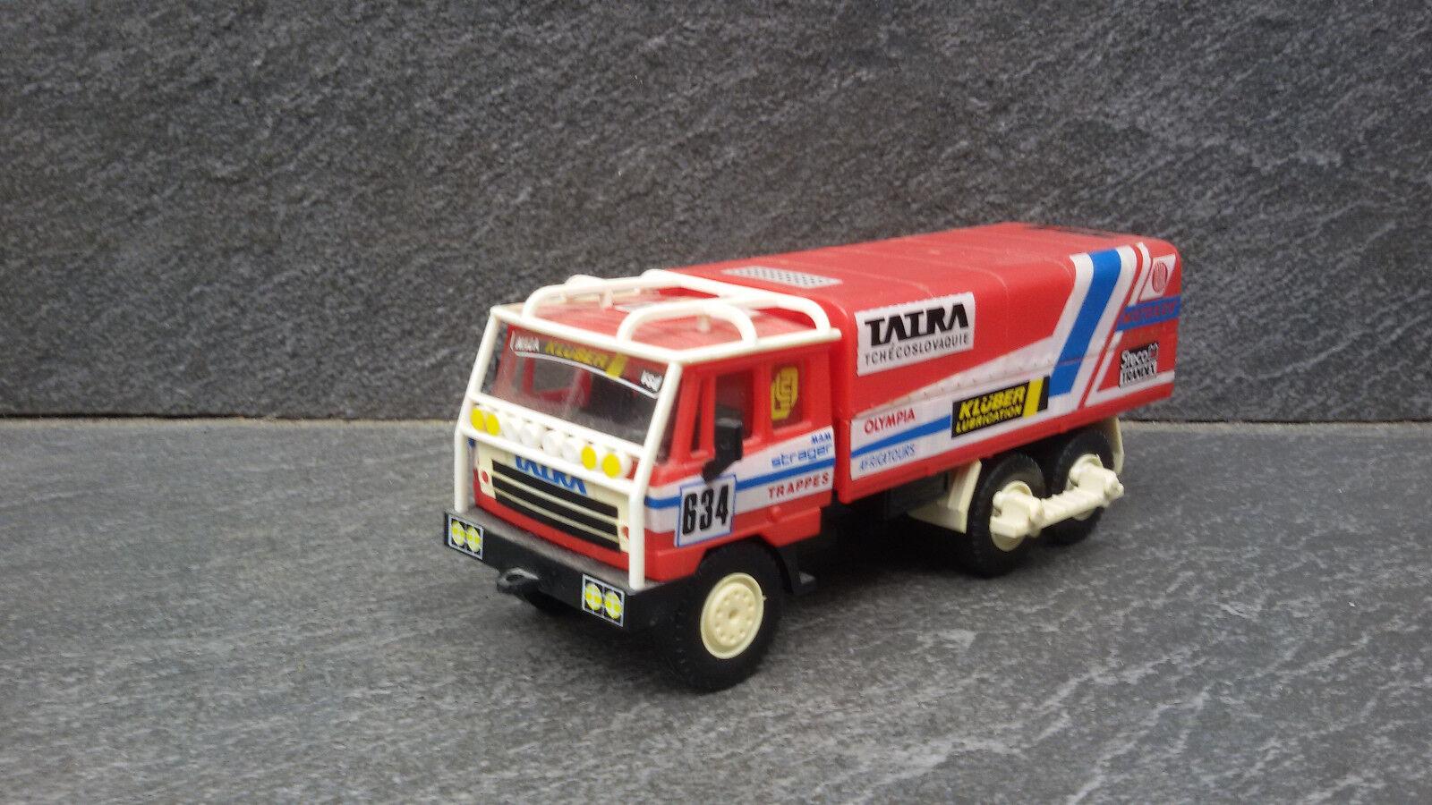 Très Rare Limited Edition TOY TATRA 815 camion vainqueur Rallye Dakar 1988