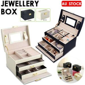 Large-Jewellery-Box-Jewelry-Girls-Rings-Storage-Organiser-Lock-Case-w-Mirror