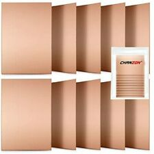 Chanzon 10 Pcs Single Sided Copper Clad Laminate Pcb 7x10 Cm 4x27 Inch Plated