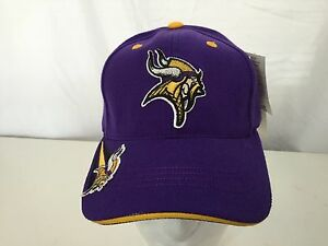 13bd5204dc2 Image is loading NEW-AMERICAN-NEEDLE-MINNESOTA-VIKINGS-HAT-VELCRO-SIZE-
