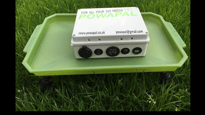 powapal mk3 12v portable power station for carp fishing bivvy power pack mobile