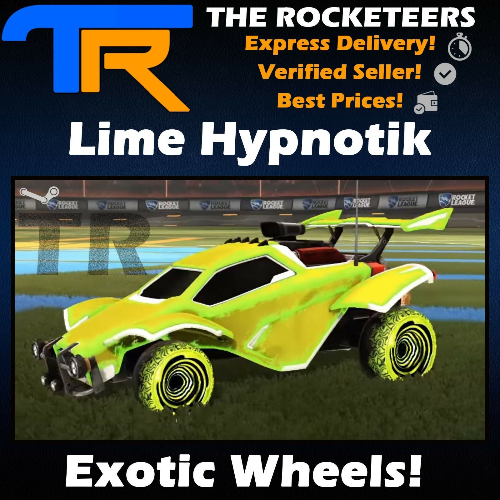 Pc Rocket League Every Painted Santa Fe Exotic Wheels Impact Crate New Ebay