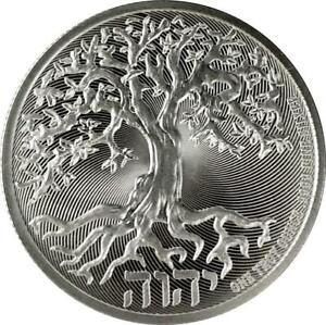 2020 NI Silver Tree of Life 1 oz Coin