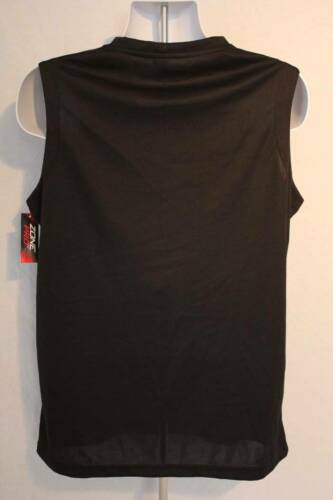 NEW Mens Tank Top Muscle Shirt Size XL Sports Athletic Black Pocket Micro Mesh