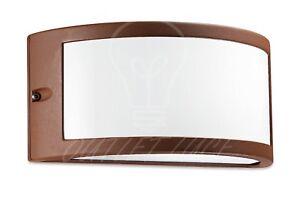 Plafoniera Da Esterno Ruggine : Applique lampada da parete muro per uso esterno giardino balcone