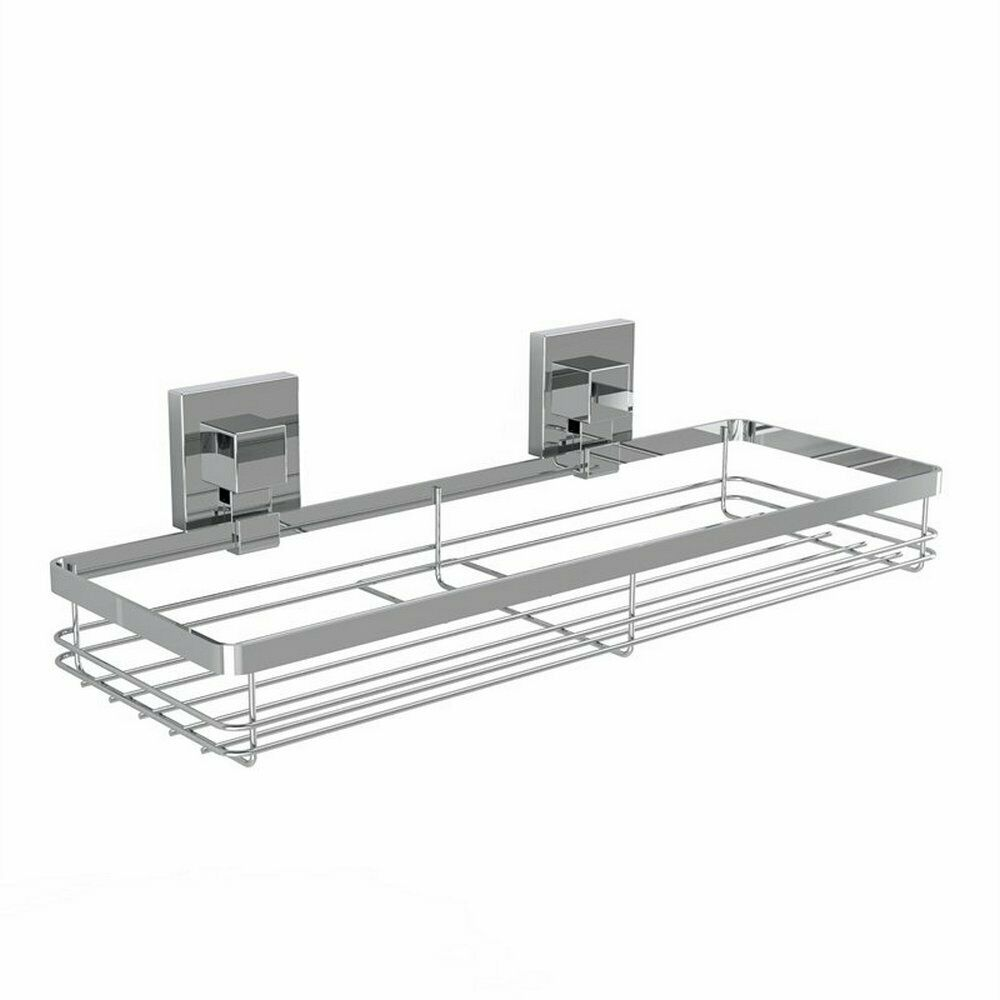 Fusion-Loc 26kg Stainless Steel Suction Bathroom Caddy