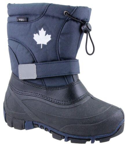 35  Winterstiefel  Navy blau 32 33 34 INDIGO  Canadians Boots Gr 31