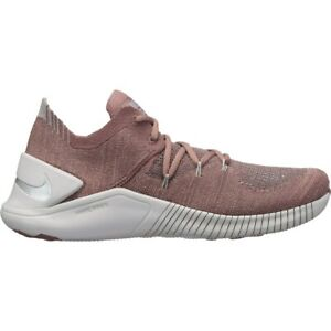 Da-Donna-Nike-Free-TR-Flyknit-3-Scarpe-da-Training-UK-6-US-8-5-EUR-40-Smokey-Malva