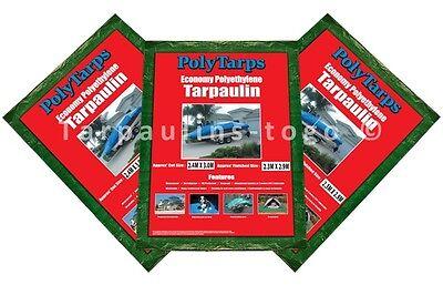 Waterproof Tarpaulin Ground Sheet Lightweight Camping Cover Tarp