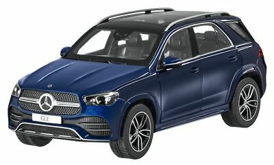 New Gle Suv 2019 Amg Line Brilliant Blue 1:18 Nip To Clear Out Annoyance And Quench Thirst Model Building Mercedes Benz V 167
