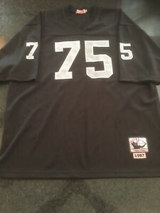 Vintage-Mitchell-And-Ness-Howie-Long-Los-Angeles-Raiders-Jersey-Size-56