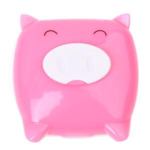 Piggy-Cartoon-Contact-Lens-Case-Mirror-Tweezer-Bottle-Holder-Box-I8M1