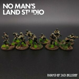 Pro-Painted-1-72-Scale-Fallschirmjager-Squad-20mm-Scale-Pegasus-Figures