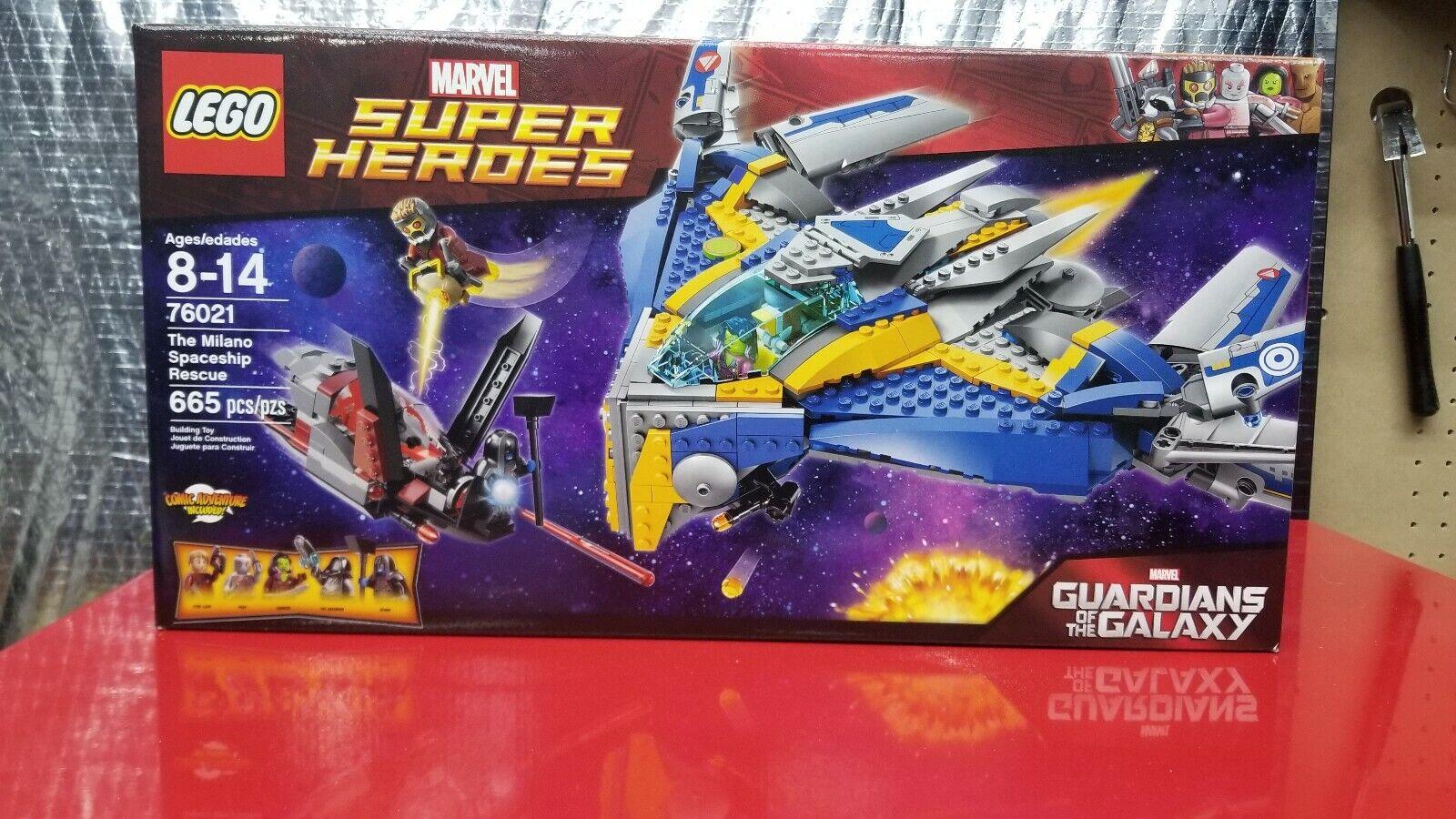 Lego 76021 Marvel  Guardians of the Galaxy The Milano spazioship, nuovo, Sealed  consegna rapida