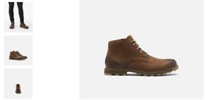 Sorel-Madison-II-Chukka-WP-Tobacco-Boot-Shoe-Men-039-s-US-sizes-9-13-NEW