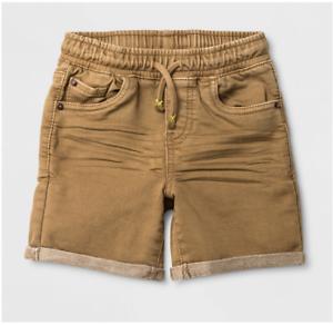 b08df842c Toddler Boys' Pull-On Denim Shorts - Cat & Jack™ Khaki-Various Sizes ...