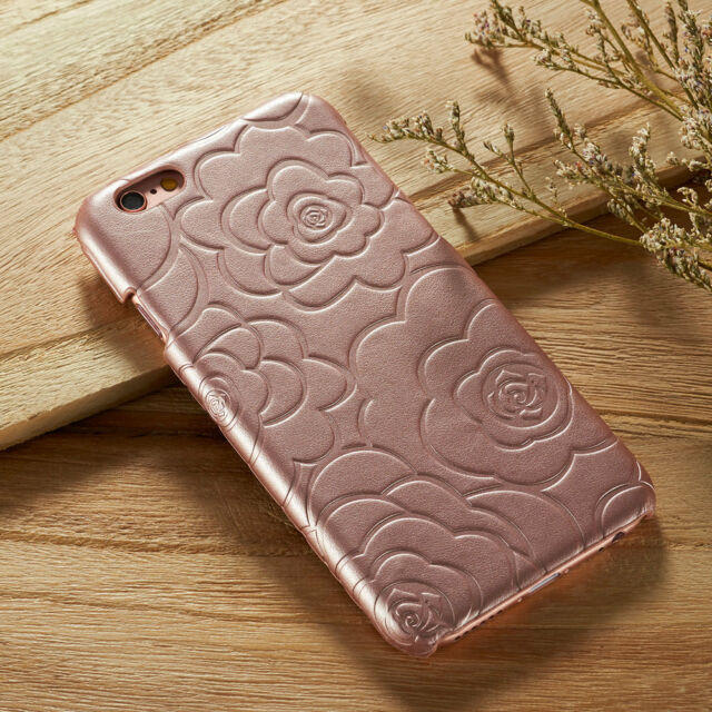 Vintage Floral Luxury Leather Hard Slim Back Case For iPhone 6S Plus 5 6s 5c 6