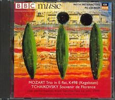 MOZART CLARINET TRIO K498 KEGELSTATT/ TCHAIKOVSKY: SOUVENIR DE FLORENCE - BBC CD