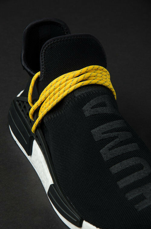 Adidas cblk Pharrell x NMD raza humana 'Negro' cblk / cblk Adidas / WHT bb3068 casual salvaje 6df9c3