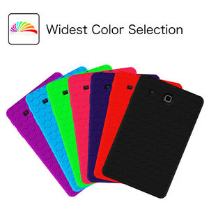 timeless design 7ea13 ccaed Details about Samsung Galaxy Tab E Nook 9.6-inch / 8-inch Shock Proof  Silicone Back Cover Case