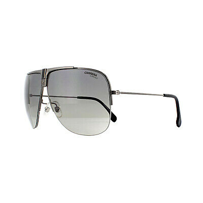 Aufrichtig Carrera Sunglasses 1013/s V81 Pr Dark Ruthenium Grey Gradient