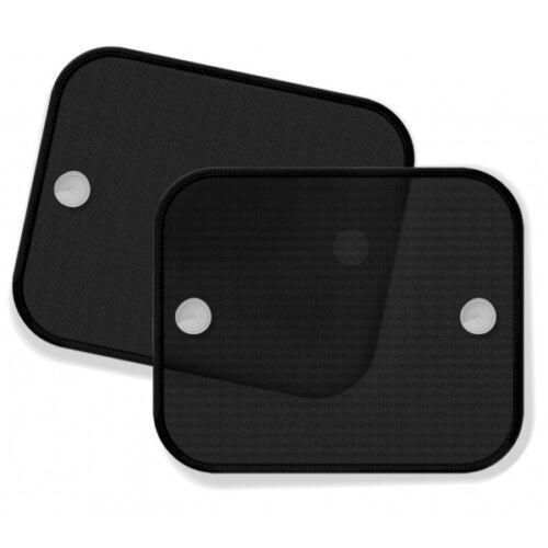 Plain Black Foldable Side Window Car Sunshades Screen Mesh Baby Boy Girl Kids