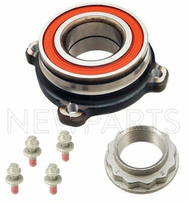 BMW Rear Kit Wheel Bearing Bolts Lock Nut 525 528 530 535 545 550 e60 Oem Fag n
