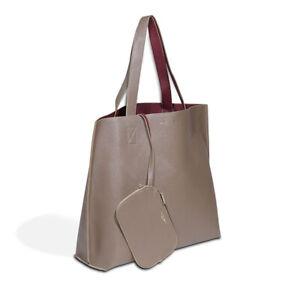 Borsa donna Shopper Campo Marzio Roma 1932 DOUBLE TOTE BAG ecopelle 51x36x14 ...