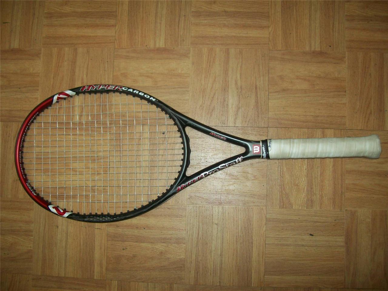 Wilson Hyper Pro Staff 5.0 STRETCH 95 Midplus 4 1/2 grip Tennis Racquet