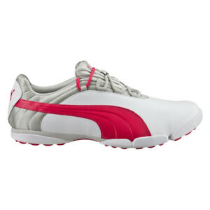 Details about NEW Womens PUMA SunnyLite V2 WATERPROOF Golf Shoes WhiteGrayRed Any Size