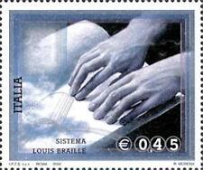 Italia 2004 Sistema di lettura Braille MNH