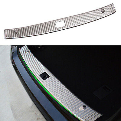 Chrome Stainless Rear Bumper Topmost Protector 2010-2016 Mercedes W212 E-Class