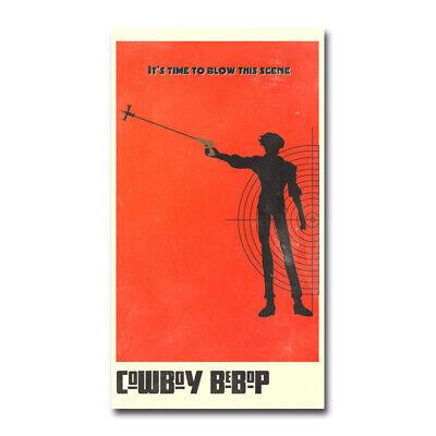Cowboy Bebop Japan Anime TV Show Silk Poster Living Room Decor Print 24x43 inch