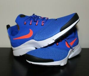 Details about Nike Mens Presto Fly Racer Blue Total Crimson Black Sneakers 908019 405 sz 10.5