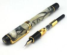 Kaigelu 316 Fountain Pen Century King Amber M Nib Celluloid Color