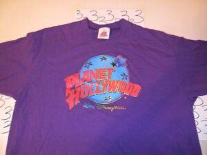 Xl planet hollywood walt disney world genuine t shirt ebay for Planet hollywood t shirt