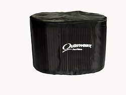 NEW OUTERWEARS AIR FILTER COVER FOR K/&N HA-1314,HA-1315,HA-2584,OVAL