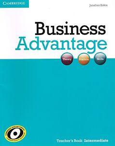 Cambridge-BUSINESS-ADVANTAGE-Teacher-039-s-Book-INTERMEDIATE-Jonathan-Birkin-NEW